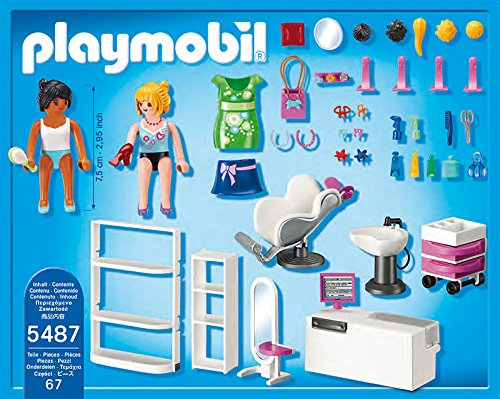 Playmobil 5487 city life shopping centre beauty salon at for Aaina beauty salon electronic city