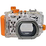 Mcoplus 40m/130ft Underwater Camera Waterproof Housing Diving Case for Canon PowerShot S95 WP-DC38