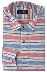 Edinwolf Men's Formal Shirt (EDFR704_41, Multi-Coloured, 41)