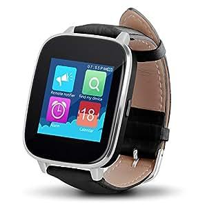 Highsound Premium Bluetooth Smart Watch Silver Silver