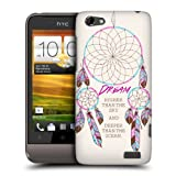 Head Case Designs Dream Higher Dreamcatchers Protective Snap-on Hard Back Case Cover for HTC One V