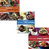 VARIOUS Weight Watchers Cook Smart Easy Collection 3 Books Set, (Weight Watchers Cook Smart Easy Everyday, Cook Smart Nice & Spicy & Weight Watchers Cook Smart Simply Suppers)