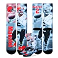Johnny Manziel Cleveland Browns NFL Drive Player Profile Socks (Medium 5-10)