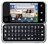 Motorola Backflip MB300 Unlocked GSM Phone with Android OS, MOTOBLUR, 5MP Camera, GPS, Wi-Fi and Bluetooth - Black/Silver