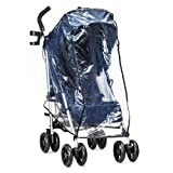 Baby Jogger - Plástico de lluvia para cochecito de bebé