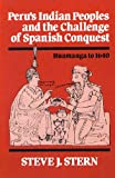 Perus Indian Peoples and the Challenge of Spanish Conquest : Huamanga to 1640