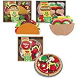 Maven Gifts: Melissa & Doug Felt Food - Pizza Set with Sandwich Set and Taco And Burrito Set