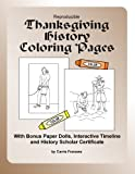 Reproducible Thanksgiving History Coloring Pages