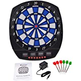 Arachnid Electronic Dart Board Set Game Room LED Display W 6 Darts