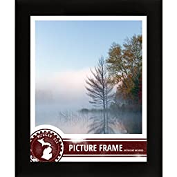 Craig Frames 1WB3BK 13 by 20-Inch Picture/Poster Frame, Smooth Finish, 1-Inch Wide, Matte Black