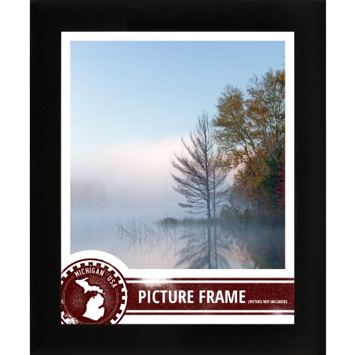 Craig Frames 1WB3BK 7 by 10-Inch Custom Frame, Smooth Finish, 1-Inch Wide, Matte Black (7 X 10 Frame compare prices)