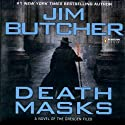 Death Masks: The Dresden Files, Book 5 Audiobook by Jim Butcher Narrated by James Marsters