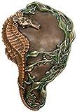 Art Nouveau Collectible Seahorse Tray Plate Figurine