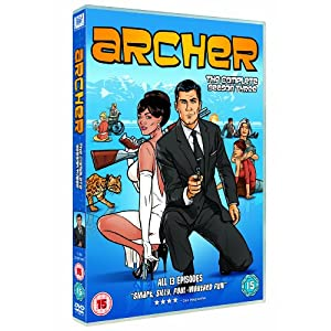 Archer - Season 3 [DVD] [NTSC] [Import anglais]