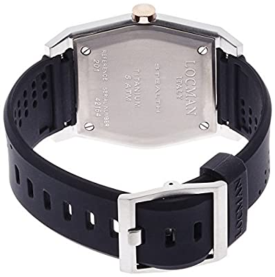 LOCMAN watch stealth classic Quartz Men's 0201 02010RBKF5N0SIK Men