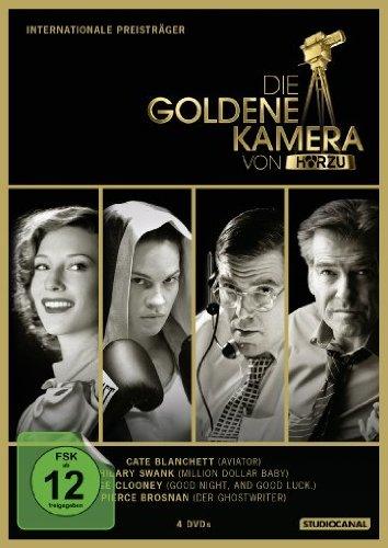 Die Goldene Kamera von Hörzu - Internationale Preisträger [4 DVDs]