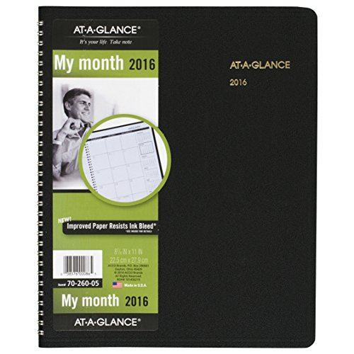 AT-A-GLANCE Monthly Planner 2016