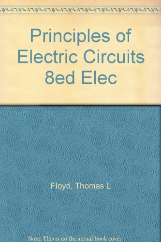 Principles Of Electric Circuits 8Ed Elec