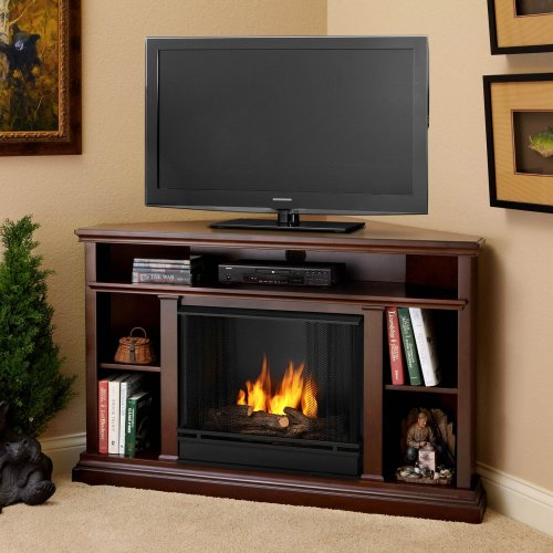Real Flame 3750-De Churchill Ventless Gel Fireplace