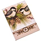 Holly Berry and Birds Notepad