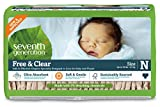 Seventh Generation Baby Diapers, Free and Clear for Sensitive Skin,...