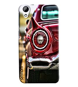 Omnam For Car Lovers Car Tail Light Printed Designer Back Cover Case For HTC Desire 728