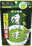 伊藤園 お~いお茶濃い味さらさら緑茶 32g