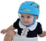 #8: Infant Baby Toddler Safety Helmet Hat (Blue)
