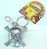 Disney Pirates of the Caribbean Key Ring Skull & Cross Bone Key chain