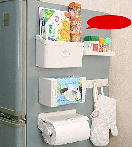 Magnetic Refrigerator Shelf Storage Rack Seasoning Bottle Rack Towel Rack 5 Set ;TM79F-32M UGBA192503 (Magnetic Shelf For Refrigerator compare prices)
