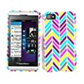 Cell Armor BBZ10-SNAP-TE601 Snap-On Case for BlackBerry Z10 - Retail Packaging - Color Chevron by Cell Armor