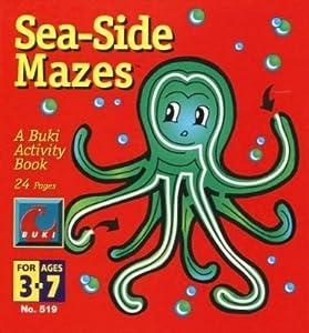 Seaside Mazes - Buki Activity Book - Made in Israel