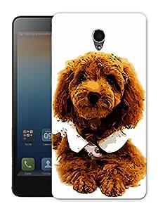 "Brown Hair Dog Printed Designer Mobile Back Cover For ""Lenovo S860"" By Humor Gang (3D, Matte Finish, Premium Quality, Protective Snap On Slim Hard Phone Case, Multi Color)"