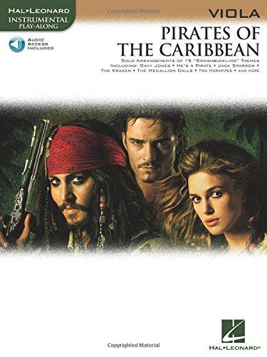 Klaus Badelt: Pirates of the Caribbean (Viola) (Hal Leonard Instrumental Play-Along)