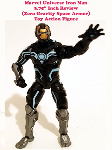 "Marvel Universe 3.75"" inch IRON MAN review (Zero Gravity Space Armor) toy action figure"