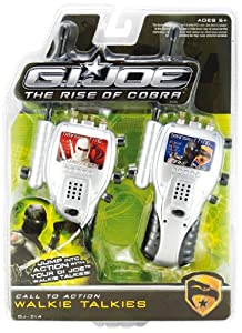 G.I. Joe The Rise Of Cobra Call To Action Walkie Talkies By KIDdesigns