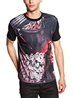 Star Wars Camiseta Manga Corta Kylo Ren With The Army (Multicolor)