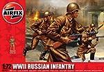 Airfix 1:72 WII Russian Infantry Figu...