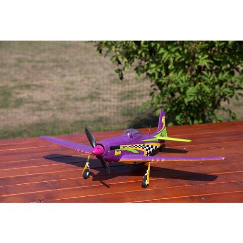 ACME-P-51-Mustang-Voodoo-ARF-Kit-inkl-3-Servos-agil-und-wendiges-MotorflugzeugOhne-Fernsteuerung-AA4008