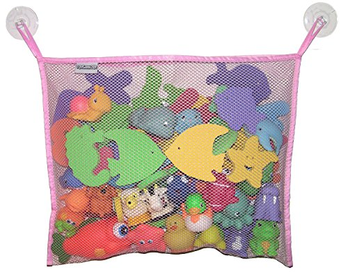 toyganizer-bath-toy-organizer-2-bonus-strong-hooked-suction-cups-pink