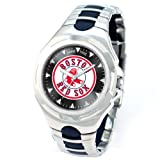 MLB Men's MLB-VIC-BOS2 Victory Series Boston Red Sox Sox Logo Watch