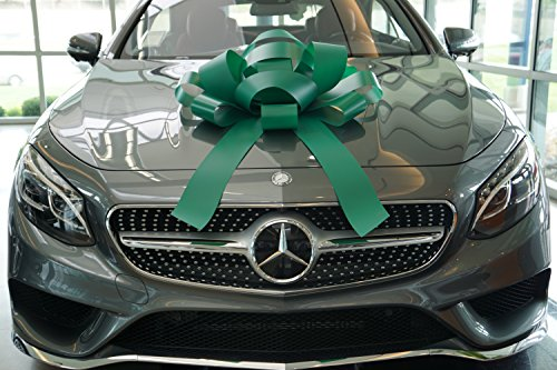 the-30-green-jumbow-giant-magnetic-backed-gift-bow-car-bow
