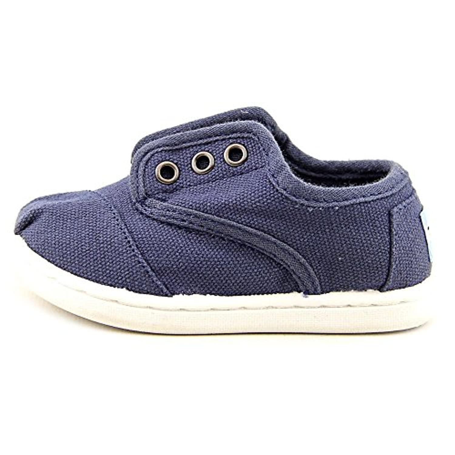 Toms Cordones Toddler US 5 Blue Tennis Shoe