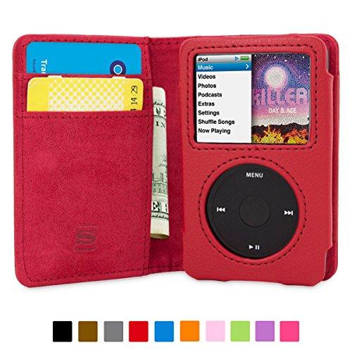 coque-ipod-classic-snuggtm-etui-a-rabat-porte-cartes-en-cuir-rouge-avec-garantie-a-vie-pour-apple-ip
