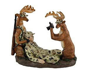 Amazon.com - Funny `Say Cheese` Hunting Deer Figure - Decorative