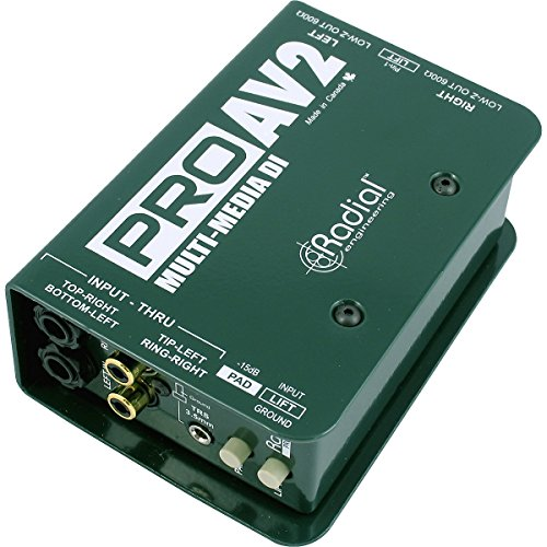 Radial Engineering ProAV2 Stereo Direct Box (Twiddling Knobs compare prices)