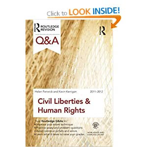 Image: Cover of Q&A Civil Liberties and Human Rights 2011-2012 (Questions and Answers)
