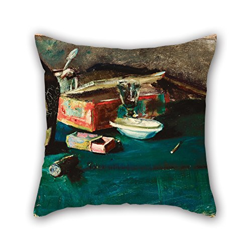 niceplw-oil-painting-christian-krohg-still-life-with-a-dom-bottle-pillowcover-best-for-montherbirthd