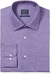 Arrow Men's Formal Shirt (8907378511515_ASSF0163_46_Lavender)