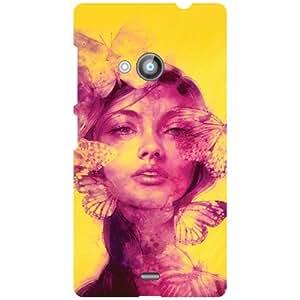 Printland Phone Cover For Nokia Lumia 535